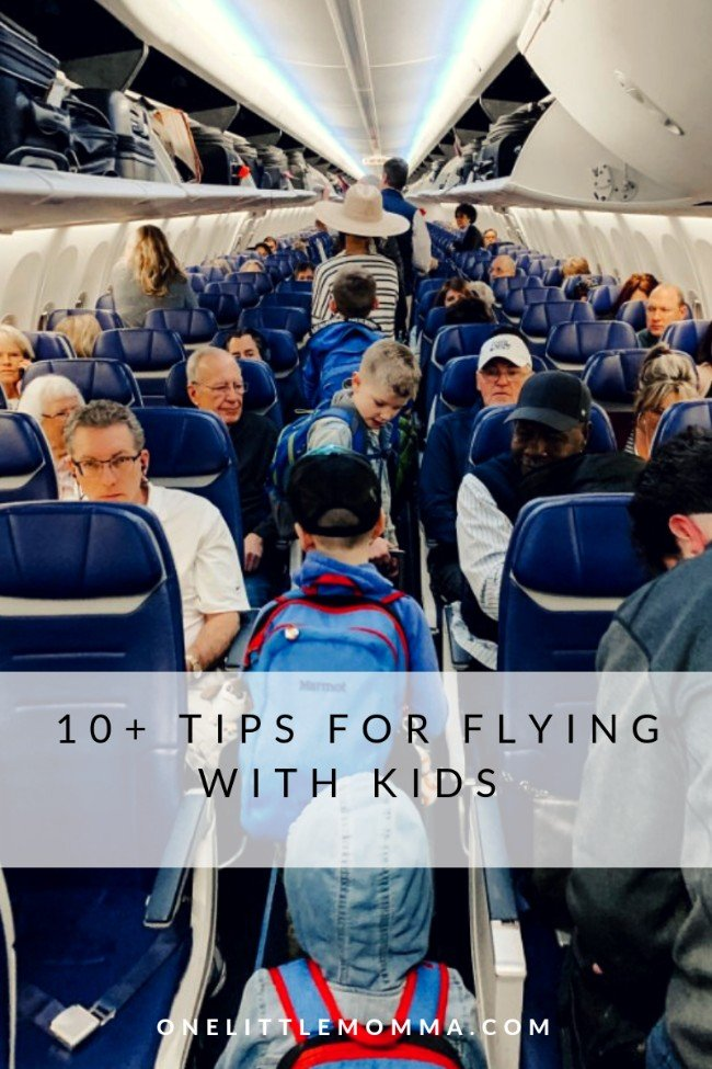 Tips for traveling with kids - One Little Momma